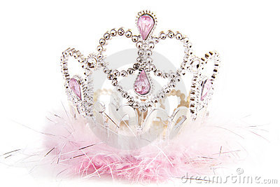 Fluffy fancy crown