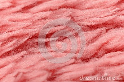 Fluffy Pink Cloth Texture