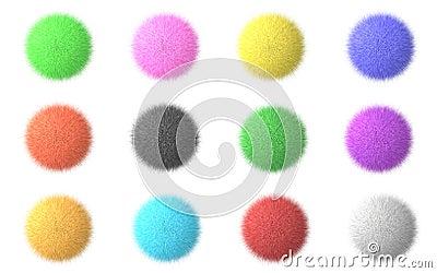 Fluffy spheres