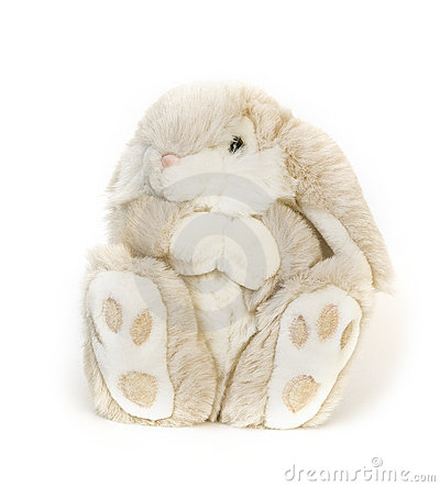 Free Fluffy Toy Hare Royalty Free Stock Image - 7657016