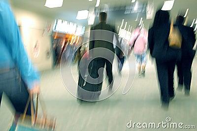 Flughafen-Unschärfen 1