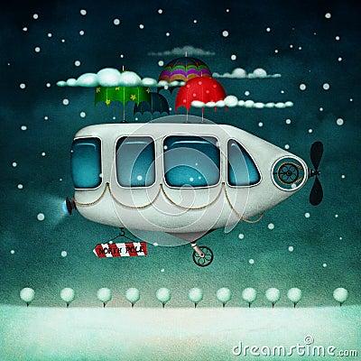 Flugwesenmaschine