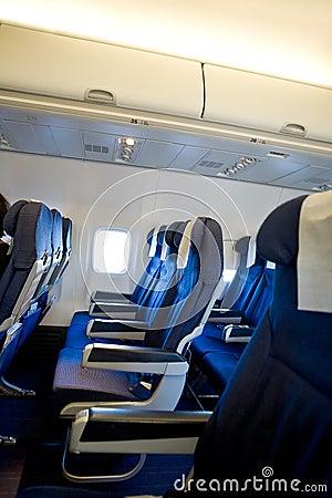 Flugzeug innenraum lizenzfreies stockfoto bild 5716605 for Innenraum designer programm