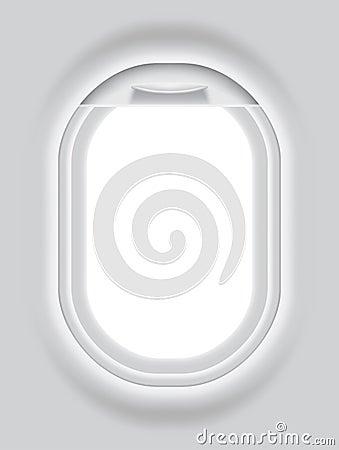 Flugzeugöffnung