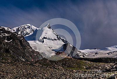 Fluhalp, Zermatt, Switzerland Editorial Stock Photo