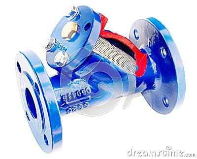 Fluid heating filter
