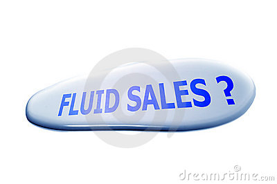 Fluid Sales? Royalty Free Stock Image - Image: 6360556