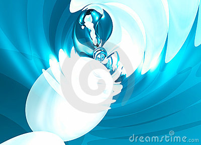 Fluid Wave abstract background pattern