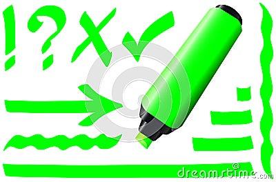 Fluorescent Marker Green