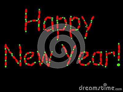 Fluorescent New Year