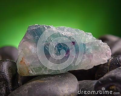 Fluorite also called fluorspar