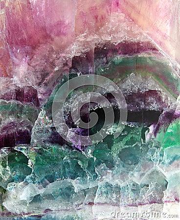 Fluorite pattern