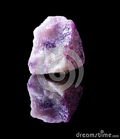Flurite crystal rock