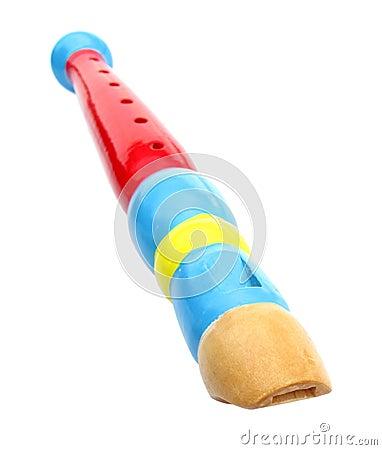Flute pipe colorful for children