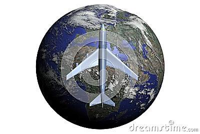 Fly through entire World