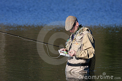Fly-fisher
