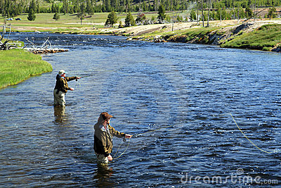 Fly fishing Editorial Image