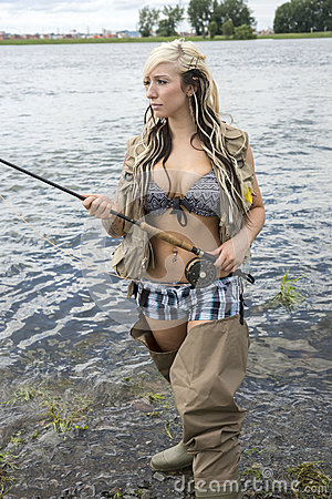 Free Fly Fishing Stock Image - 89167941