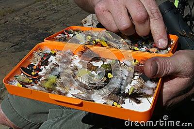 Fly Fishing Tackle Box