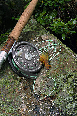 Free Fly Fishing VII Royalty Free Stock Photos - 474518