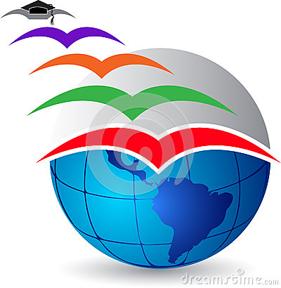 Fly graduation logo