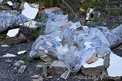 Fly Tipped Rubble
