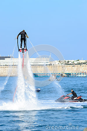 Flyboard Editorial Image