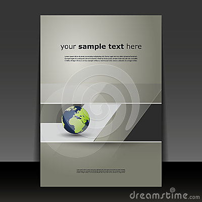Free Flyer Or Cover Design Royalty Free Stock Photo - 42447615