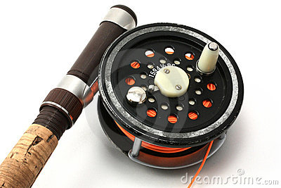 Flyfishing Rod and Reel