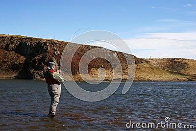 Flyfishing solitude
