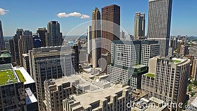 Flyg- Illinois Chicago dag