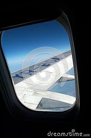 Flygplanfönster