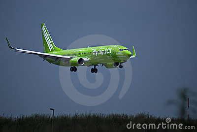 Flying 101 - Kulula Air - ZS-ZWP Editorial Photo