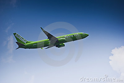 Flying 101 - Kulula Air - ZS-ZWP Editorial Stock Photo
