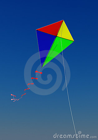 Free Flying A Kite Royalty Free Stock Photos - 11185568