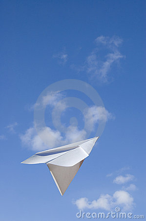 Free Flying Ahead Royalty Free Stock Photography - 748107