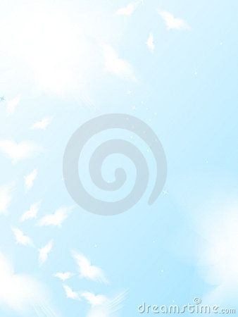 Free Flying Birds In The Sky Royalty Free Stock Photos - 10235878