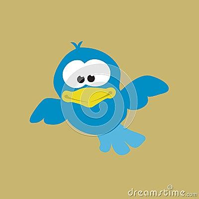 Free Flying Blue Bird Stock Photos - 9987213