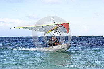 Flying Boat in Punta Cana, Dominican Republic Editorial Stock Photo