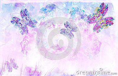 Flying butterflies-3