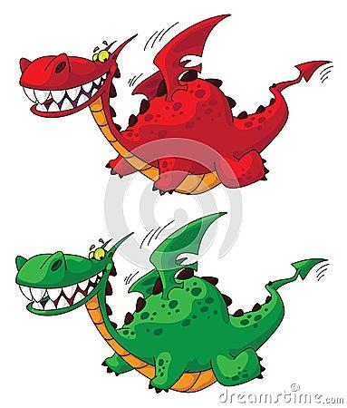 Flying dragon big