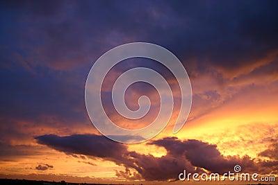 Flying dragon cloud