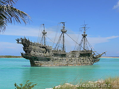 Flying Dutchman at Castaway C Editorial Photography