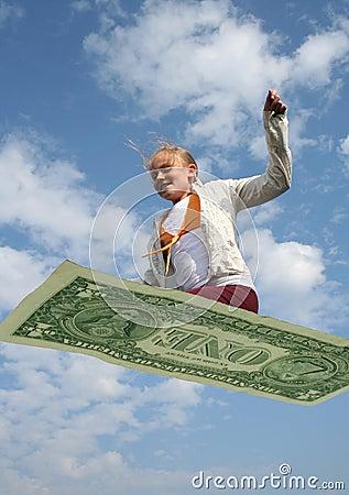 Free Flying Economy Stock Images - 1752304