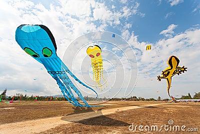 Flying fancy kite