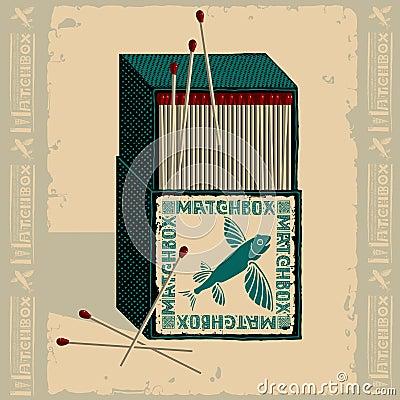 Free Flying Fish Isometric Matchbox Royalty Free Stock Image - 19433826