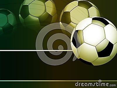 Flying footballl