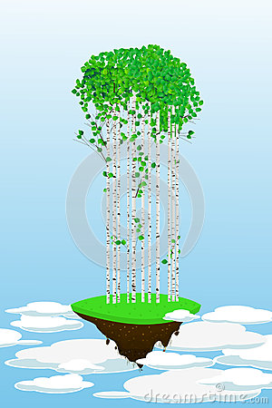 Flying forest