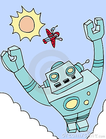 Flying Giant Robot