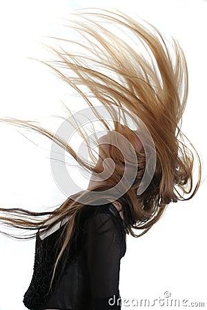 Free Flying Hair Stock Photo - 2219040